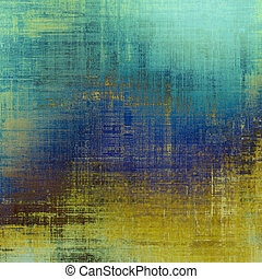 Vintage texture ideal for retro backgrounds. With different color patterns: yellow (beige); brown; blue; cyan