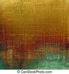 Vintage texture ideal for retro backgrounds. With different color patterns: yellow (beige); brown; cyan; green