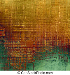Vintage texture ideal for retro backgrounds. With different color patterns: yellow (beige); brown; green