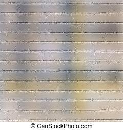 Vintage texture  multicoloured brick wall