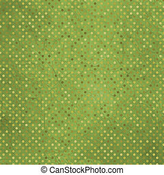 Vintage texture with retro polka pattern. EPS 8