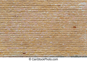 Vintage textured background of red brick wall
