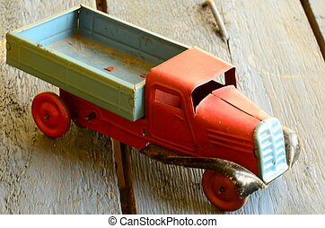 Vintage toy car - truck (lorry) toy