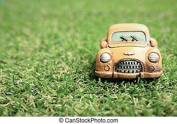 Vintage toy model cars