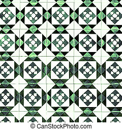 Vintage Traditional ornate portuguese decorative tiles ...