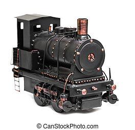 vintage train toy