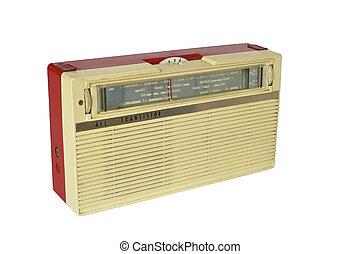 Used vintage transistor radio