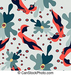 vintage tribal seamless pattern