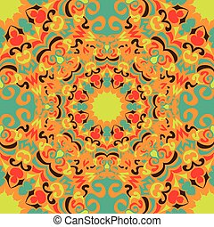 vintage tribal seamless pattern vector illustration