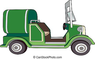 Vintage truck tank