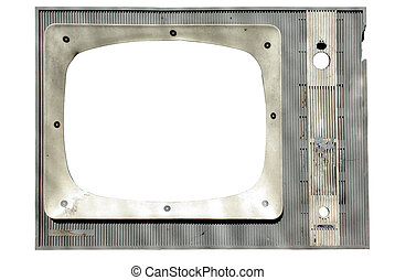 tv screen grunge frame