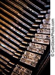 Vintage Typewriter Types