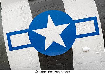 vintage US airforce insignia