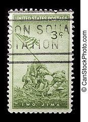 Vintage US commemorative postage stamp - UNITED STATES-...