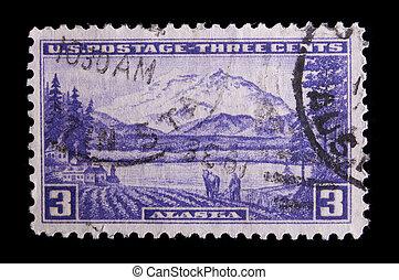 Vintage US commemorative postage stamp - UNITED STATES -...