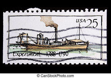 vintage US commemorative postage stamp - UNITED STATES - ...