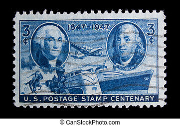 Vintage US commemorative postage stamps - UNITED STATES -...