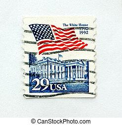 Vintage US postage stamp
