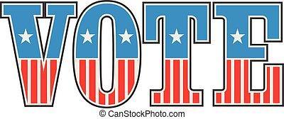Vintage US Vote