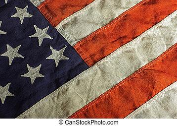 Vintage USA Flag