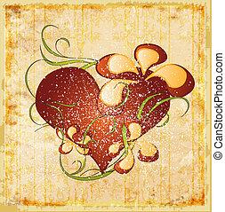 vintage valentines day greeting card