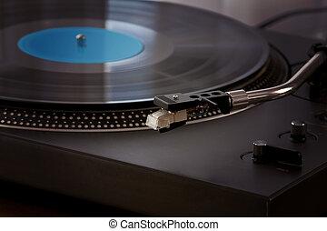Vintage Vinyl Record Player Turntable