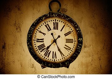 Vintage wall clock.