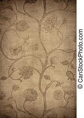Vintage wallpaper background - Floral vintage wallpaper...