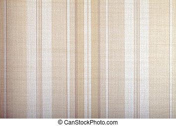 vintage wallpaper background with beige stripes pattern