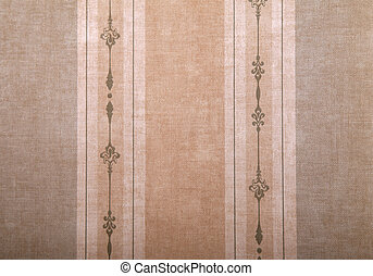 vintage wallpaper background with stripes pattern