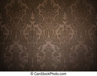 vintage wallpaper from king's palace with classy patterns