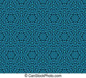 vintage wallpaper pattern seamless background. Vector. -...