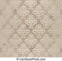 vintage wallpaper - vintage seamless wallpaper. EPS10 vector...