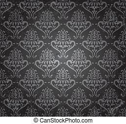 vintage wallpaper - vintage seamless wallpaper in grunge...