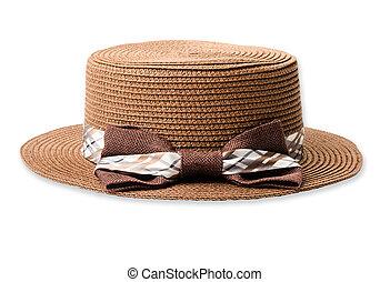 Vintage woman hat.
