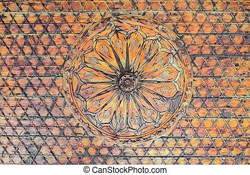 Vintage wooden decorative background