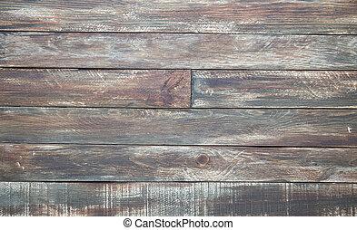 Old vintage browm wooden textured gorizontal background
