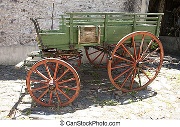 Vintage - Wooden Wagon