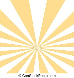 Vintage yellow striped pop art background. Vector...