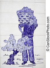 Vintager mosaic