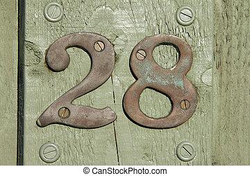 vinte, oito