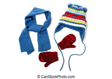 vinter kläda