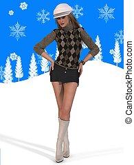 vinter kläder