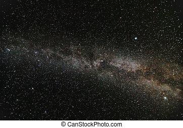 vintergatan, galax