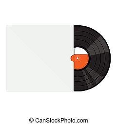 vinyl gramophone record