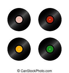 vinyl legt vast