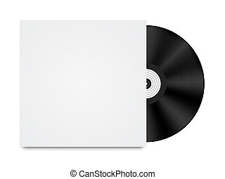 Vinyl Record in Envelope