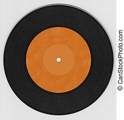 Vinyl record music disco