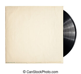 Vinyl record - Old vinyl record in a paper case