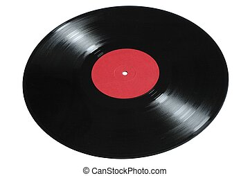 Vinyl Record - Old vinyl record (LP)